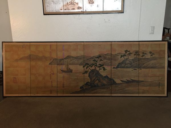 Vintage Rare Large Japanese Painting for Sale in Vista, CA - OfferUp