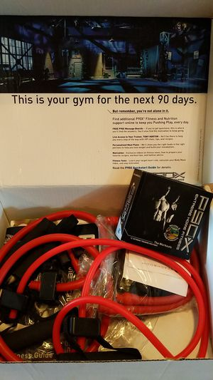 Used, P90X with chin-up bar for sale  Derby, KS