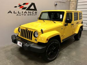 JEEP UNLIMITED ALTITUDE SPORT UTILITY 4D *MANUAL TRANSMISSION* for Sale in Chantilly, VA