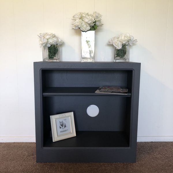 Grey Solid Wood Two Tier Bookshelf 35obo For Sale In Riverside CA