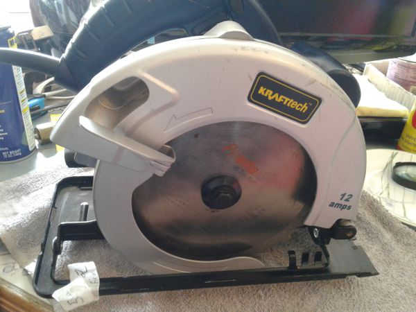 Circular saw kraft tech cs185cf put on blade looks new perfect circular saw kraft tech cs185cf put on blade looks new perfect condition tools machinery in mesa az offerup keyboard keysfo