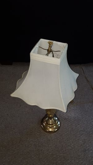 2 Golden lamps with offwhite shades. for Sale in Chester, VA