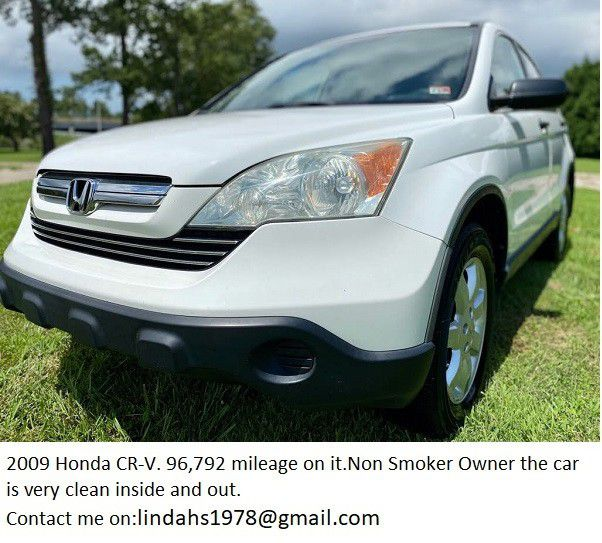 $1000-Well maintained🍀2009 H o n d a CR-V Run good-One Owner