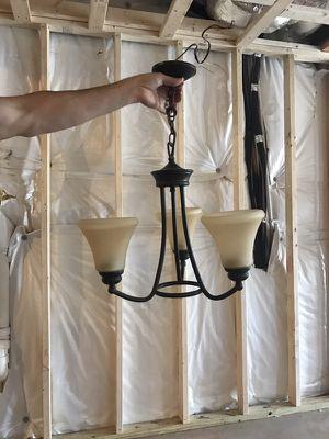 Chandelier- 3 lights bronze finish for Sale in Midlothian, VA