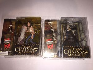 McFarlane movie maniacs series 7 Texas Chainsaw lit for Sale in Newport, NJ