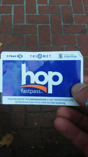 Trimet pass valid until 8/14 for Sale in Portland, OR