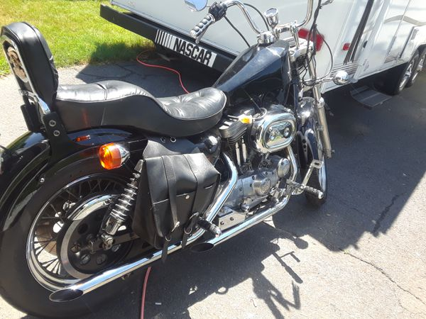 1992 Harley Davidson SportsterCoffin Gas TankCustom Painted Front Fender280000 Registered W Florida Plates And TitleMust SellText Contact