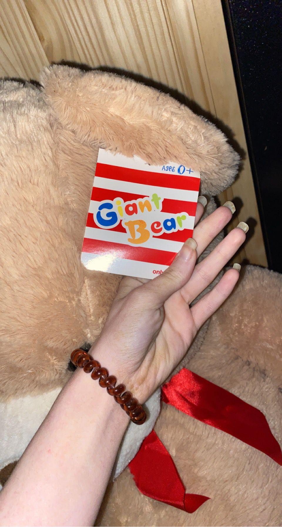 3 Foot Bear Still Has Tags