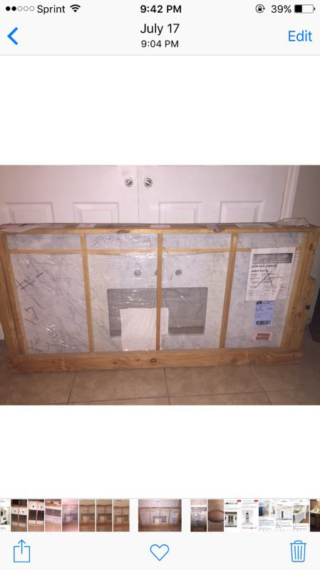 Carrara Marble Countertop For Sale In Englewood Fl Offerup