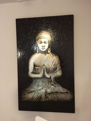 Large Buddha Canvas Painting for Sale in Silver Spring, MD