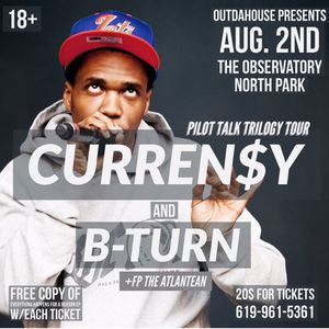 Curren$y Tickets for Sale in San Diego, CA