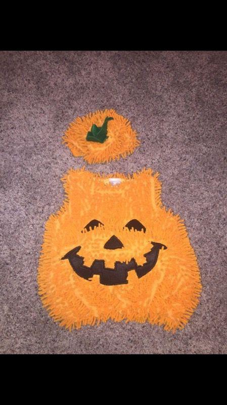 Pumpkin Costume 0-12M