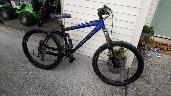 488906ab958 Kona stinky downhill mountain bike for Sale in Buckley, WA - OfferUp