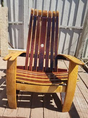 Antique Wine Barrel Chair For Sale In Bay Point Ca Offerup