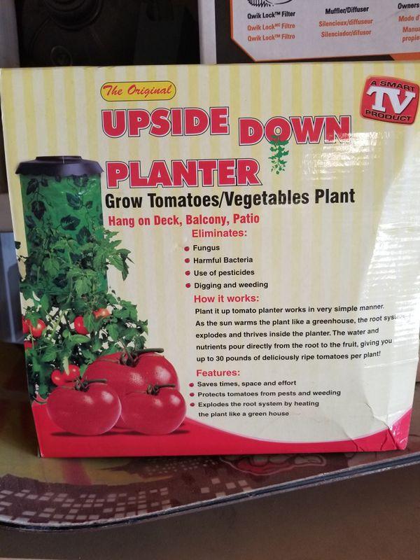 Tomato Planter Upside Down New For Sale In Clovis Ca
