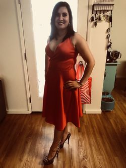 Armani Exchange Red dress Thumbnail