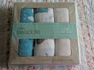 Organic Aden and Anais swaddle blankets for Sale in Frederick, MD