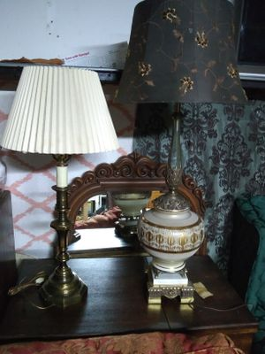 Vintage table lamps I have more than you been shown for Sale in Philadelphia, PA