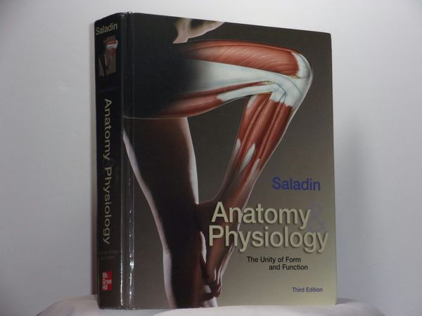 Anatomy and Physiology: The Unity of Form and Function 3rd Edition ...