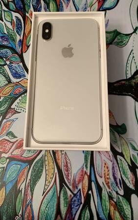 Silver iPhone X 64GB Unlocked
