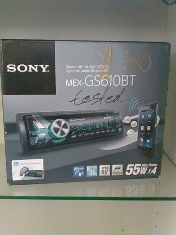 sony mex gs610bt for sale in kent wa offerup