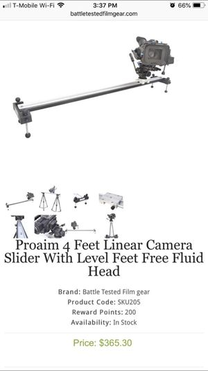 Camera slider for Sale in Maitland, FL