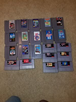Nintendo NES, and Super NES Games for Sale in Boyds, MD