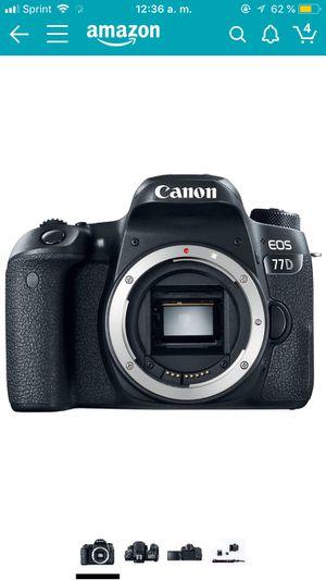 Canon EOS 77D Body for Sale in Woodbridge, VA