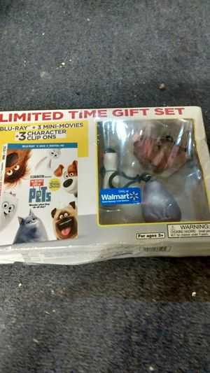Secret life of pets collectors Blu-ray for Sale in Hamilton, OH