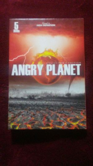 Angry Planet 5 dvd collectors edition in HD for Sale in Boston, MA