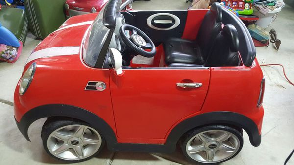 Mini Cooper S Ride On Wheels Car 12 Volt 2 Seater For In Garner Nc Offerup