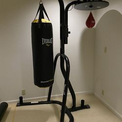 Everlast Dual Station Punching Bag Stand Thumbnail