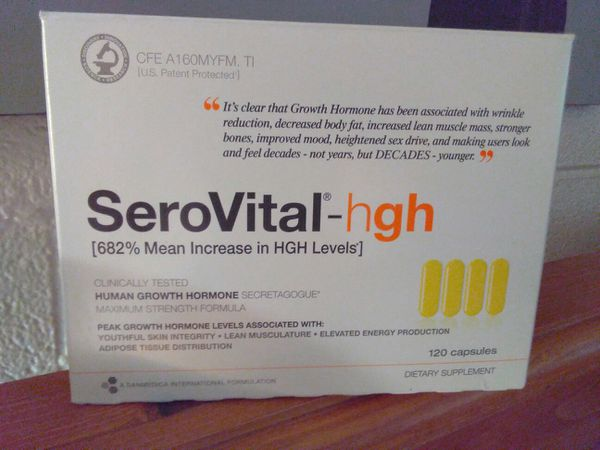 SeroVital-hgh  Human growth hormone  Max strength formula 120 capsules for  Sale in Las Vegas, NV - OfferUp