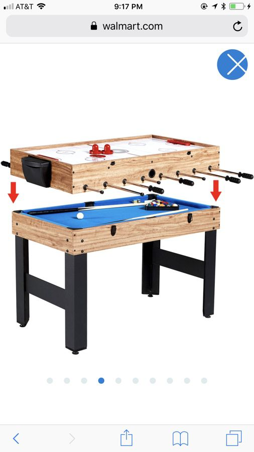 MD Sports Inch In Combo Game Table Games With Billiards - Foosball table houston