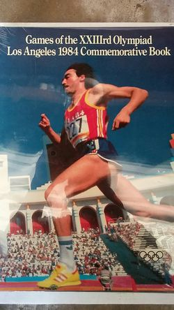 1984 Los Angeles Olympic games Commemorative book Thumbnail