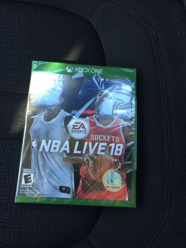 NBA 2k18 $50 each
