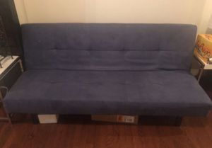 Blue IKEA futon for sale! Barely used! for Sale in Washington, DC