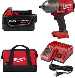 Milwaukee 2767-20M18 FUEL18V CORDLESS LITHIUM-ION1/2 IN. IMPACT WRENCH WITH FRICTION RING KIT for Sale in Upper Marlboro, MD