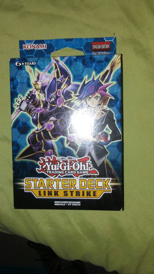 Yugioh link strike starter deck *sealed for Sale in Bronx, NY - OfferUp