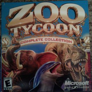 Zoo Tycoon: Complete Collection(2003 PC) for Sale in Tacoma, WA