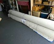 Carpeting 20 x 20 Blue white circle 2 each. for Sale in Orlando, FL
