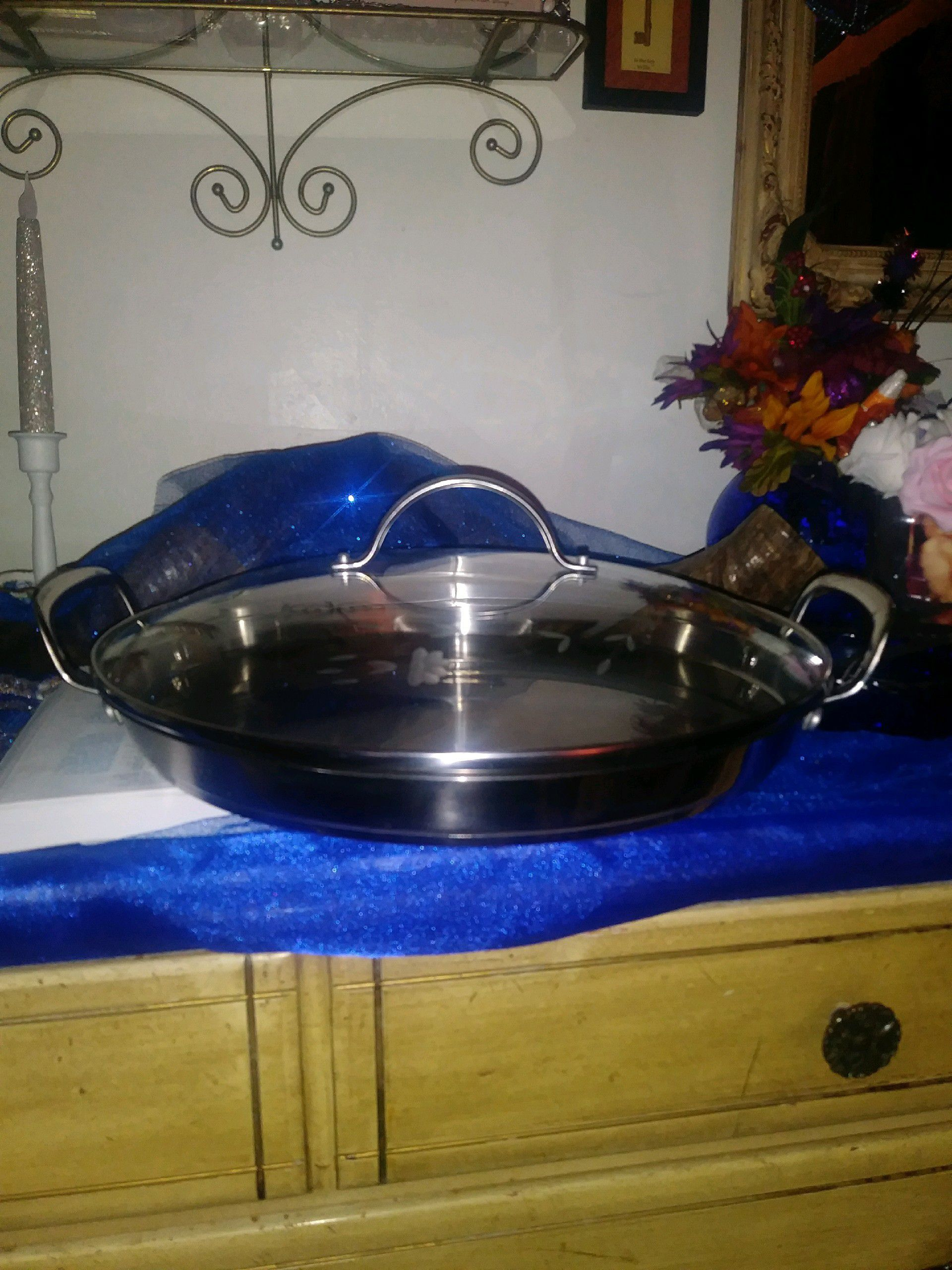 princess house stainless steel skillet
