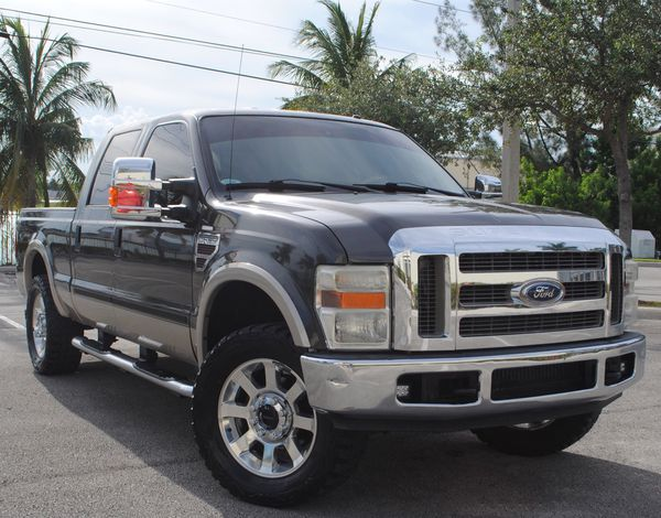 2008 Ford F250 Lariat Crew Cab Stroke 6 4l V8 Twin Turbo For In Hollywood Fl Offerup