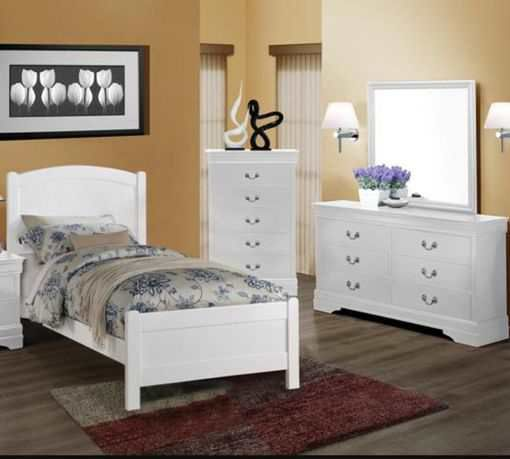 BRAND NEW QUEEN SIZE BEDROOM SET SPECIAL ONLY. ( NEW FURNITURE AND MATTRESS AVAILABLE ) U 0