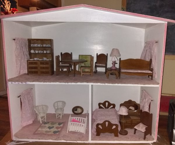Antique Wood Doll House Wreal Ceramic Dishes For Sale In Carrollton Tx Offerup