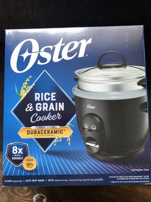 Photo Oster Rice and Grain Cooker-New, never opened