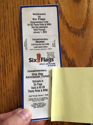 Six Flags Great Adventure ticket (1) for Sale in Upper Freehold, NJ
