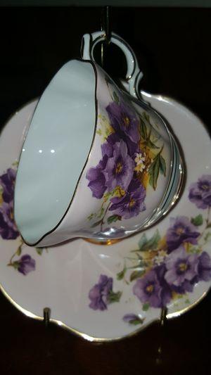 Rosina bone china 406 a/g Teacup for Sale in Detroit, MI