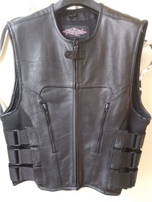 Street & Steel Leather Vest for Sale in St. Louis, MO