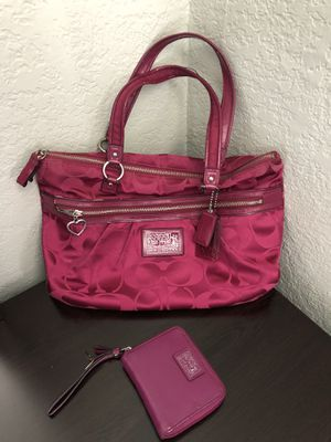 Authentic Coach Bag And Wallet For In Hollywood Fl